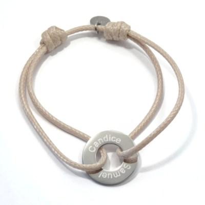 Bracelet homme personnalisé Rosa