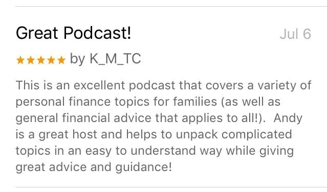 iTunes Review from Marriage, Kids and Money Podcast