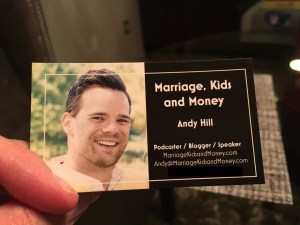 Marriage, Kids and Money Business Card