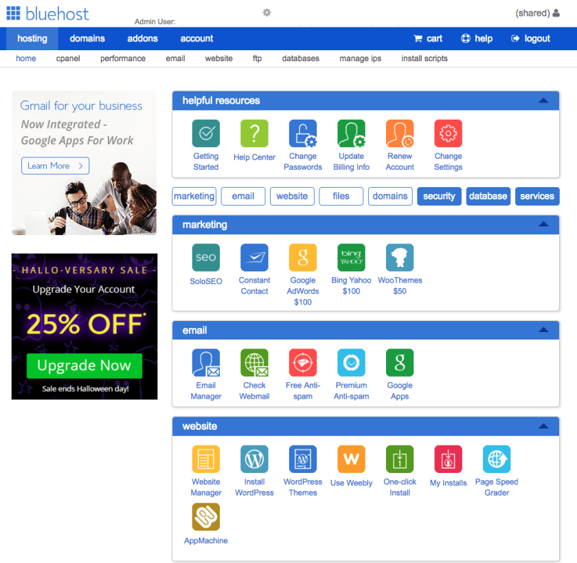 Bluehost Cpanel - Marriage, Kids and Money
