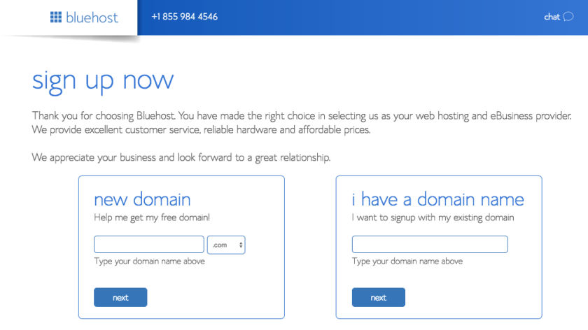 Bluehost Domain Name - Marriage, Kids and Money