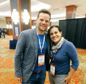 Andy Hill and Author Elle Martinez from Couple Money