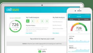 Credit Sesame, Credit Monitoring