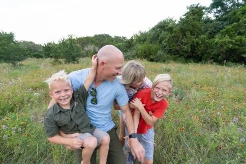 Jon Vroman and family