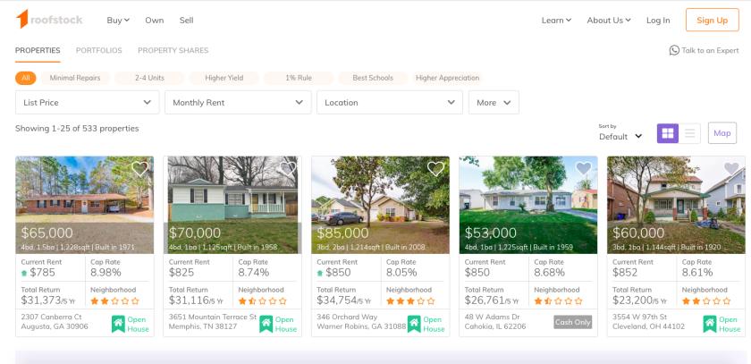 Roofstock Properties