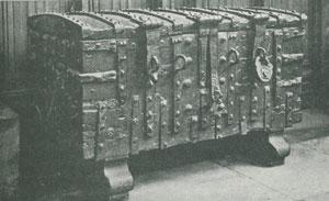 Parish chest in Boston, Lincolnshire