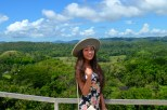 Janet and Chocolate Hills