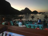El Nido twilight.