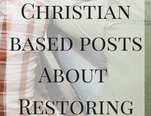12 Posts about Restoring Marriage. Christian based posts for healing your marriage.
