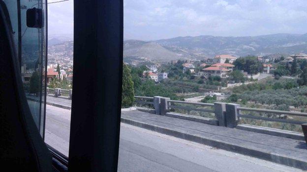 Lebanon bus ride