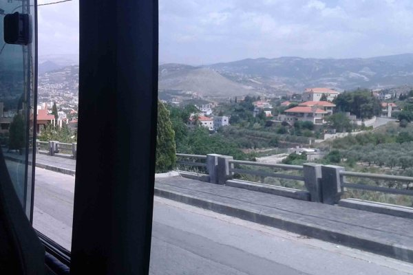 Getting From Beirut to Bcharre, Lebanon – Bus to Bcharre