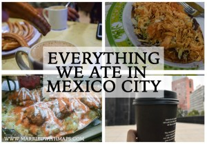 various food in Mexico
