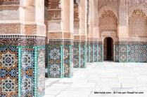 Medersa Ben Youssef em Marraquexe