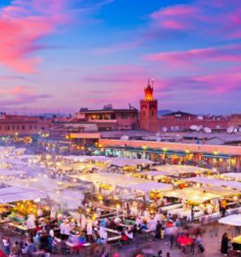 Ruta 20 días desde Marrakech - Viajes por Marruecos de norte al sur