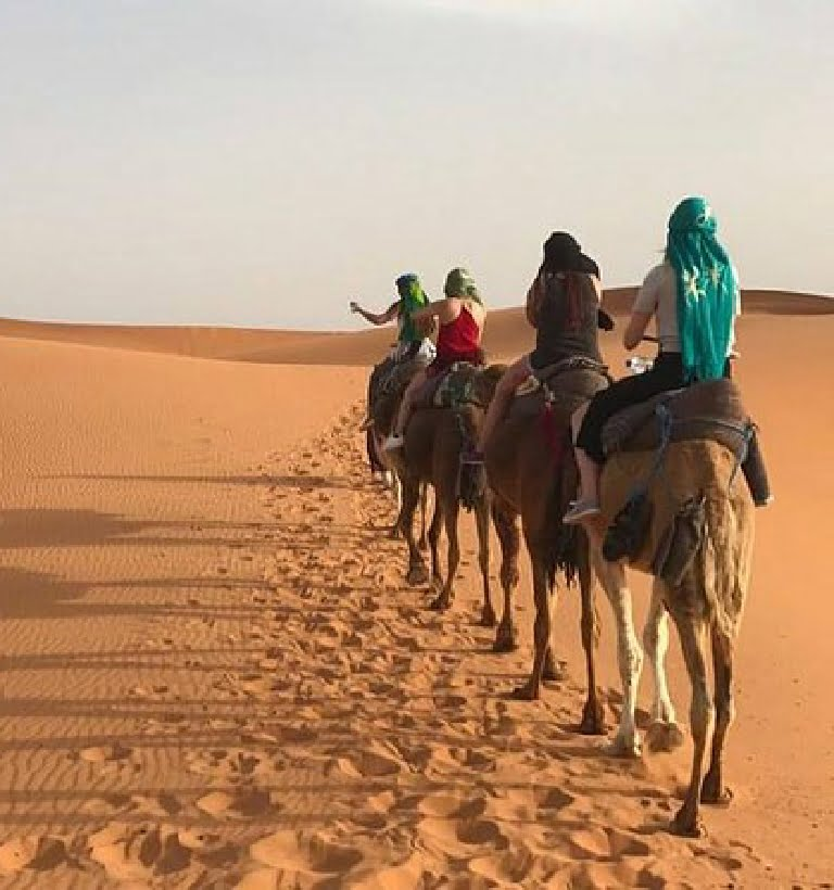 Ruta 6 días desde Marrakech al desierto de Merzouga