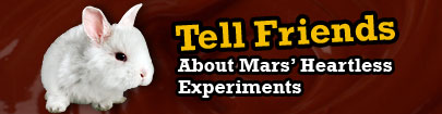 Tell Friends About Mars' Heartless Experiments