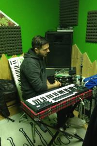 Registrazione tastiere @ Stop Studio