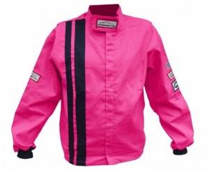 RacerDirect Pink Youth Racing Jacket