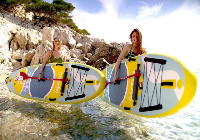 Tests Matos Paddle à Marseille
