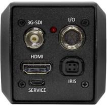 Rear view of CV346 compact full-HD Camera with 3G/HDSDI/HDMI