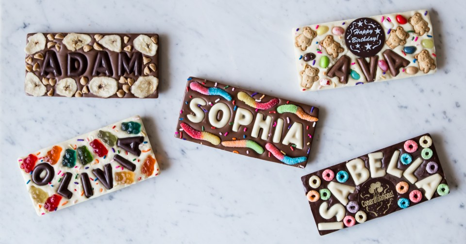 Entrepreneurship inspired Shana Elson's Top-This Chocolate bars