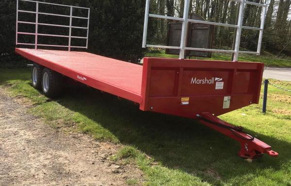 Bale Trailer | BC/25ft-10ton
