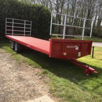 Marshalls Trailer 25ft 1