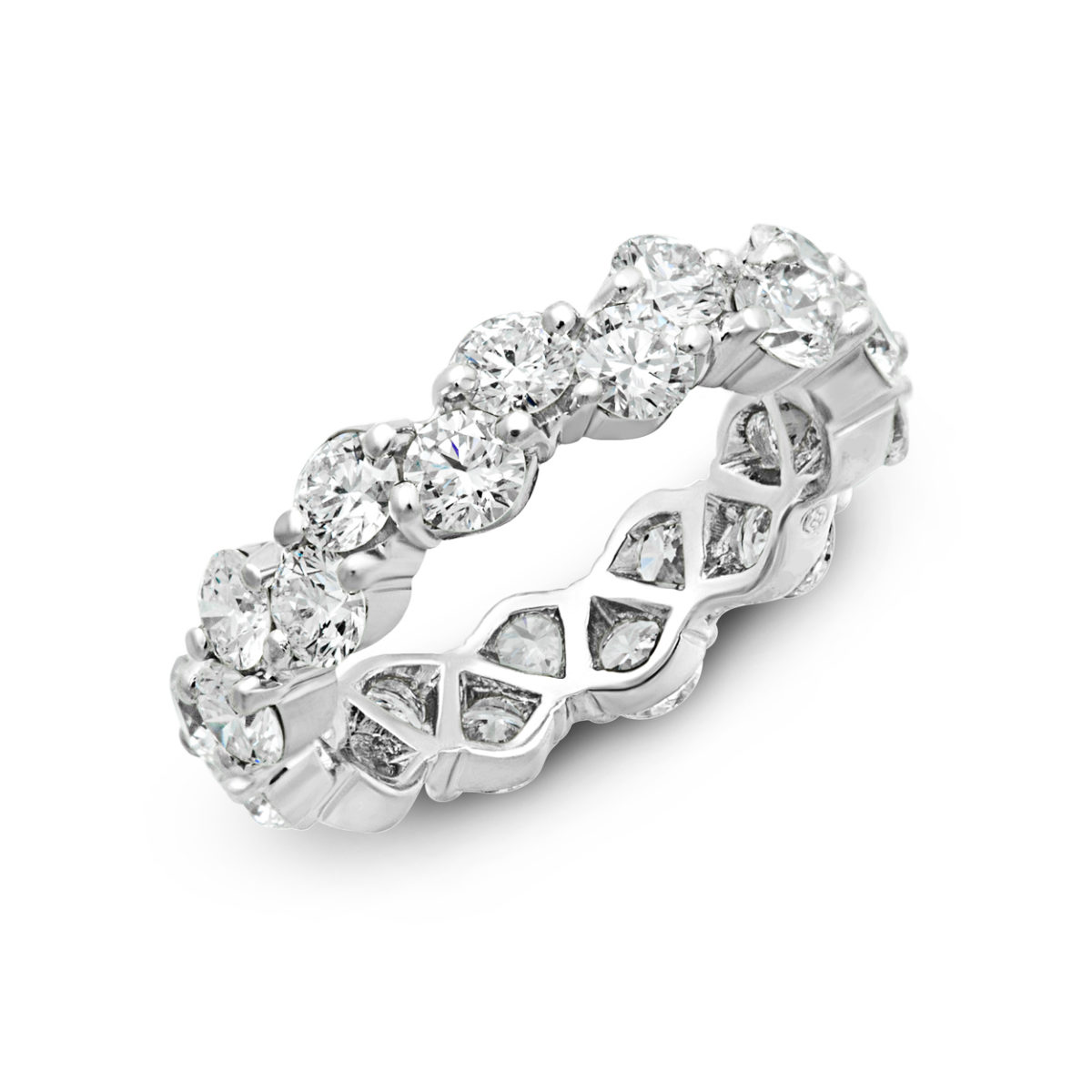Oscar Heyman Zig Zag Diamond Eternity Band W2867