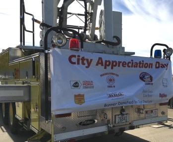 Marshalltown Iowa City Appreciation Day Sign
