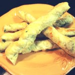 Spinach Twists - A yummy and healthy snack for toddlers and preschoolers