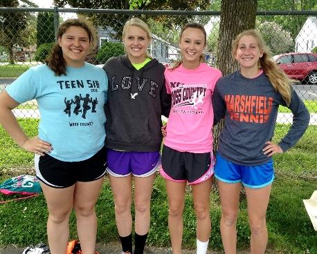 Marshfield Girls Track Hits Its Peak Heading Toward WIAA