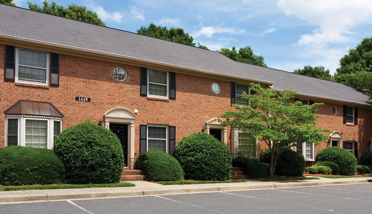 Park Place Townhomes In Charlotte NC Marsh Properties