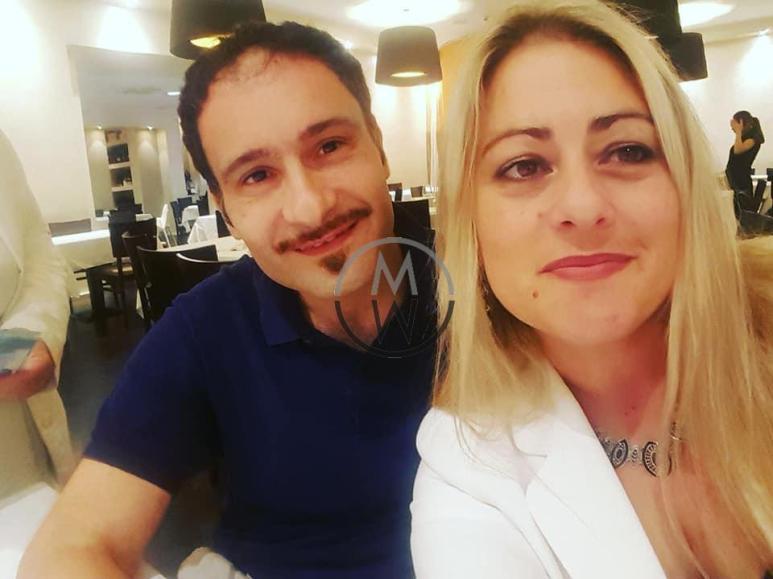 Alessandra Prospero insieme a Guido Tracanna