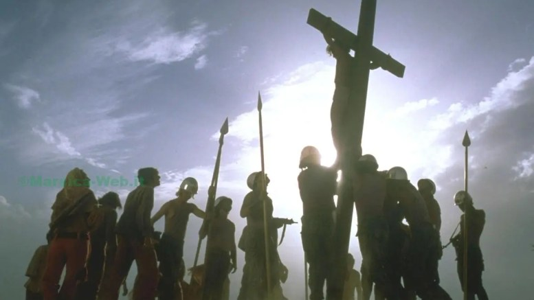 JESUS CHRIST SUPERSTAR CROCIFISSIONE