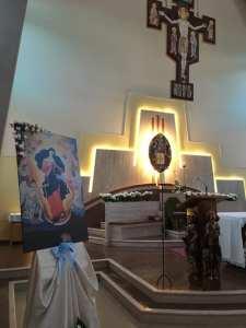 in foto: la parrocchia del Sacro Cuore in Celano (foto della parrocchia)