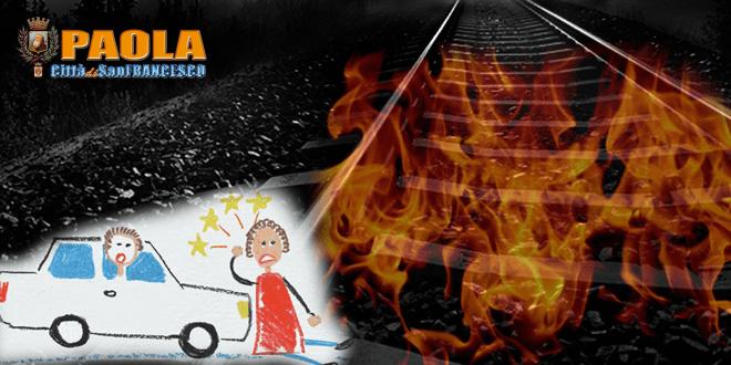 fiamme in stazione