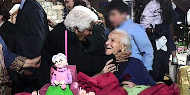 100 anni nonna rosa falconara