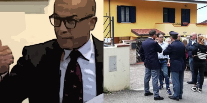 rapina casa ex sindaco paola