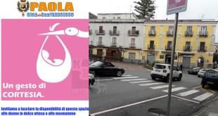 parcheggio rosa paola