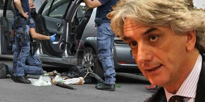 cetraro bomba auto moglie giuseppe aieta