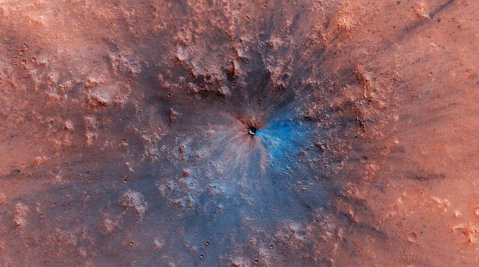 mars impact crater