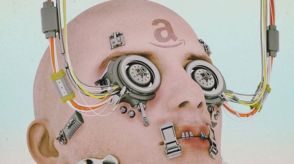 amazon robot by beeple