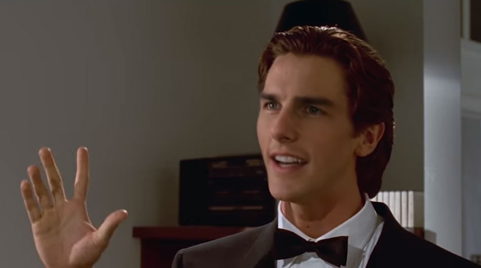 deep fake tom cruise american psycho