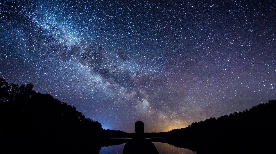 looking at the universe
