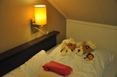mijn bed bij landal