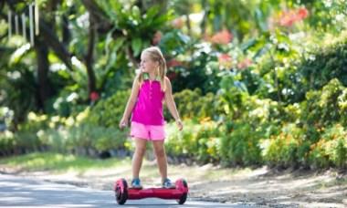 hoverboard meisje