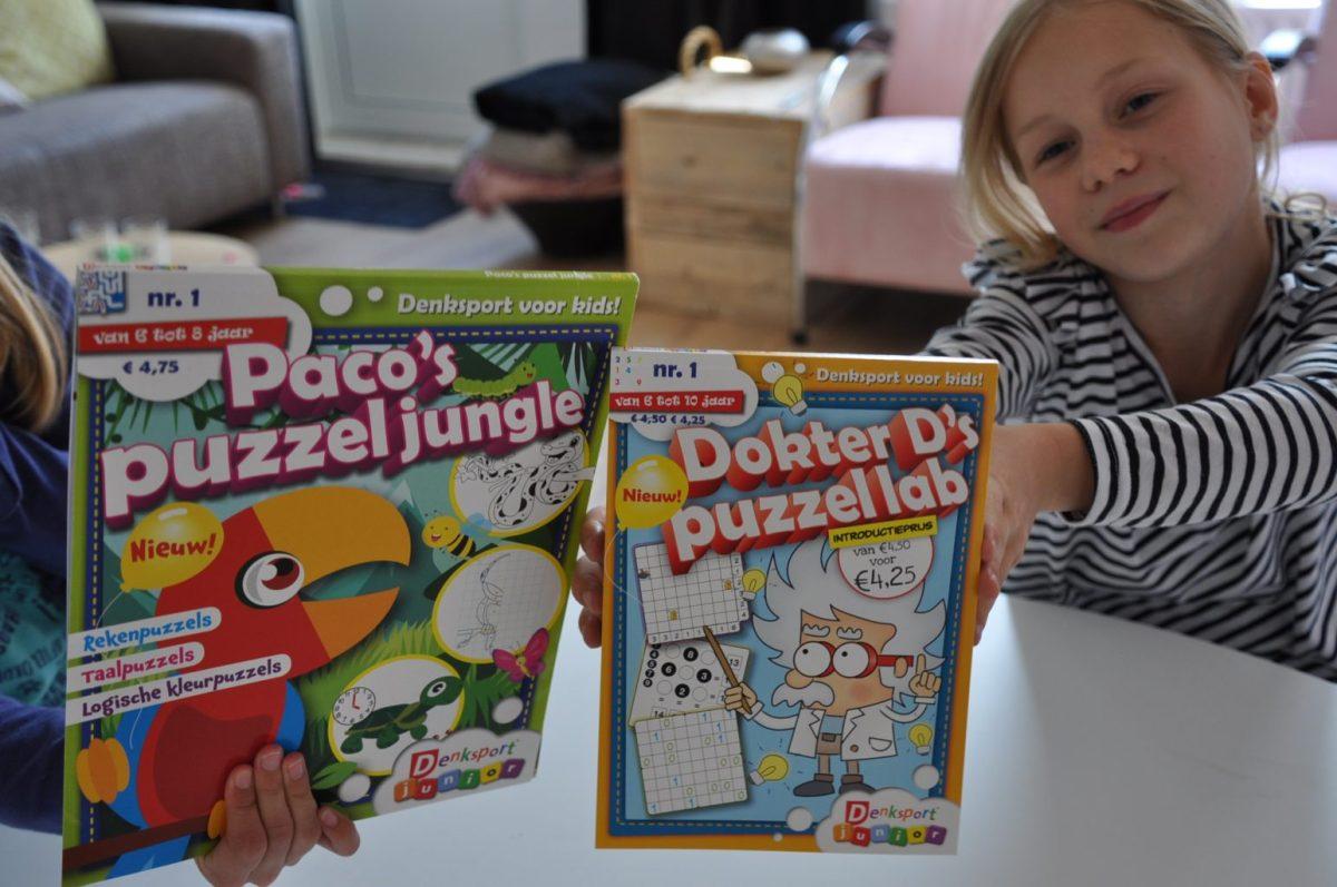 Vliegen met de kids: puzzelboekjes mee + win