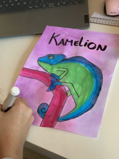 online tekenles lightpad brushpen krijt
