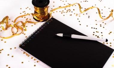 feestelijk geschenk pen
