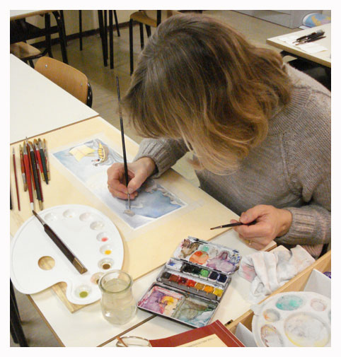 WATERCOLOR WORKSHOPS FOR ADULTS